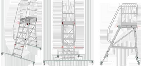 Передвижной трап индустриальный NV 551