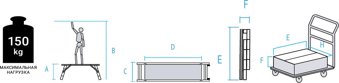 Схема: Малярный стол NV1360