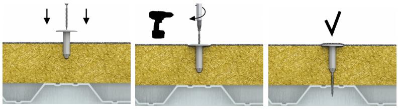 Шуруп сверлоконечный в керамич. покрытии KOELNER WX-48180