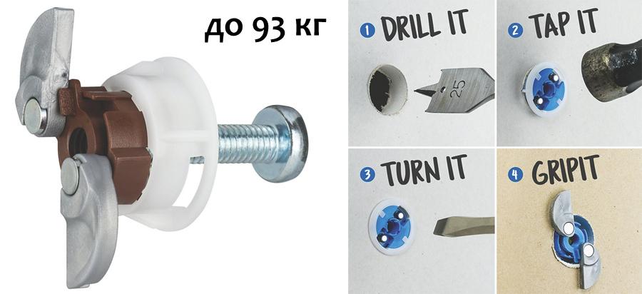 Инструмент (фреза) для крепежа Gippit 20 мм