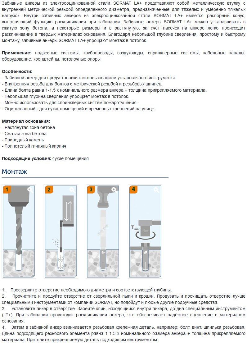 Разновидности строительных анкеров для разных видов работ